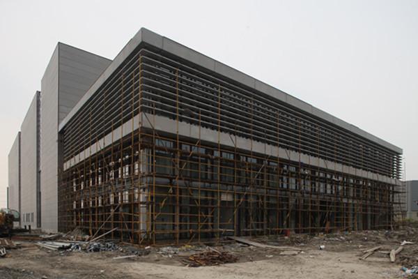 上海同济大学地震实验楼(外墙)图片